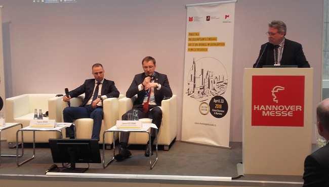 Business-Talk zum Geschäftsklima in Moskau