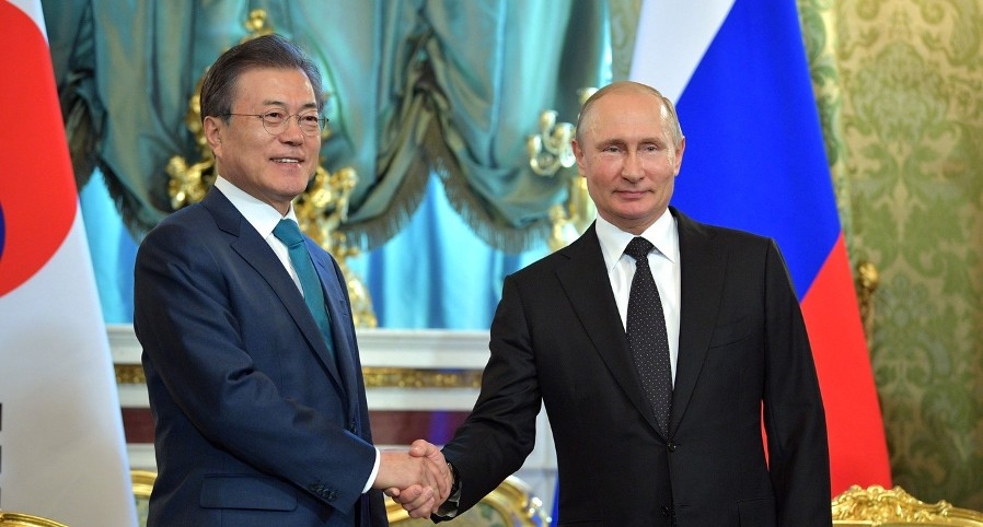 Putin und südkoreanischer Präsident unterzeichnen in Moskau gemeinsame Erklärung