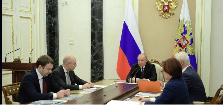 """Putin: Russische Wirtschaft """"Insgesamt positiv"""""""