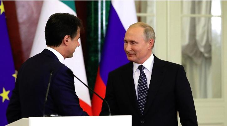 """Russland prüft Pläne, Italien mit dem """"türkischen Strom"""" zu verbinden"""