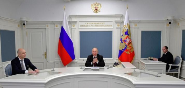 In Jakutien hat Putin die Entwicklung eines neuen Diamantenfelds gestartet