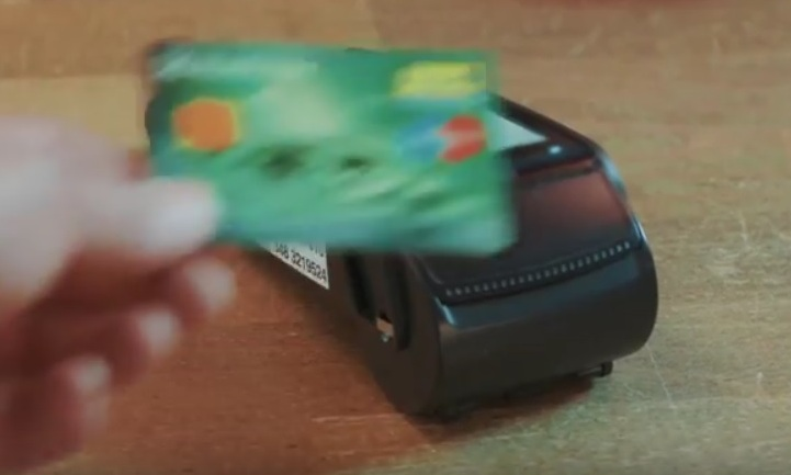 Armband ersetzt Bankkarte