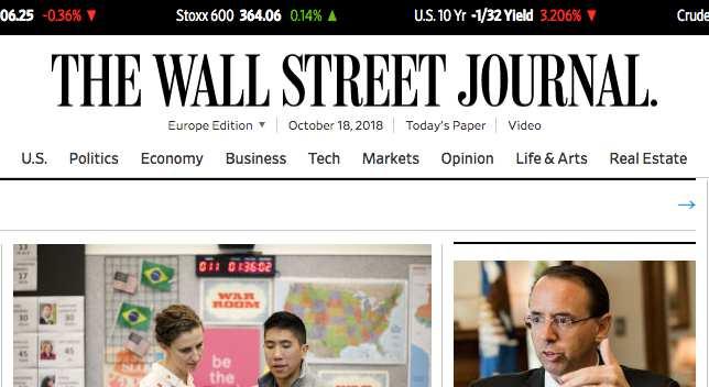 WSJ: USA könnten wegen des Einbruchs der Ölpreise Sanktionen gegen Russland verhängen