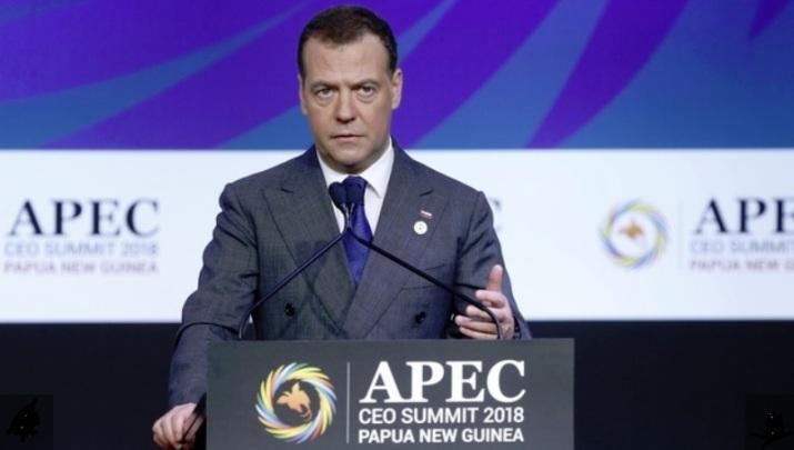 Medwedew über die Erholung der Weltwirtschaft nach der Krise 2008