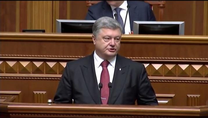 Ex-Präsident der Ukraine Petro Poroschenko von Russland sanktioniert