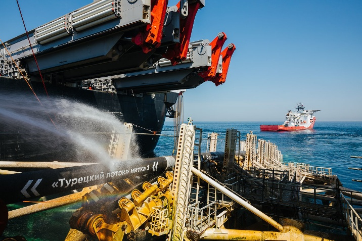 """Ukraine: 12 bis 13 Milliarden Kubikmeter Gas Verlust durch """"Turk-Stream"""""""