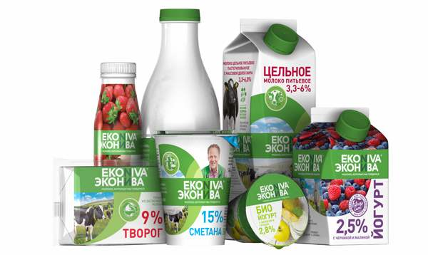 """Ekosem-Agrar startet neue """"EkoNiva""""-Marke für Milchprodukte im russischen Markt"""