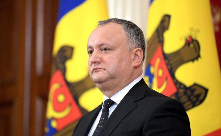 Dodon will mit Putin das Problem des Exports durch die Ukraine besprechen