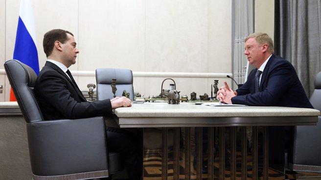 Anatoly Tschubais sieht Voraussetzungen für Energiekrise in Russland
