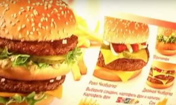 McDonald's in Russland wird vollständig auf importierte Produkte verzichten