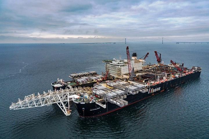 800 km von Nord Stream 2 bisher gebaut