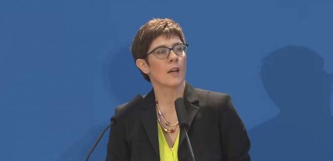 CDU-Chefin unterstützt Nord Stream 2