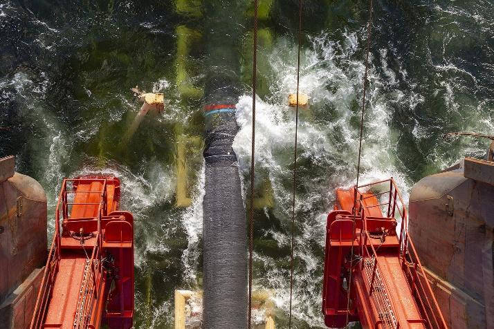Nord Stream 2 beginnt mit Verlegung in russischen Gewässern