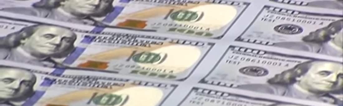 Dollar unter 64 Rubel gefallen