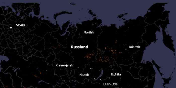 Katastrophenschutz: Sorgloser Umgang mit Feuer Hauptursache für Brände in Sibirien