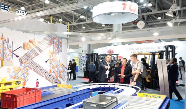 CeMAT RUSSIA bietet einen kompletten Intralogistiküberblick
