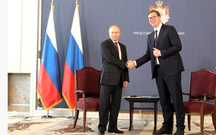 Putin: Russland bereit, Gastransit durch die Ukraine zu erhalten