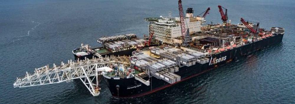Allseas stellt die Pipelineverlegung für Nord Stream 2 ein