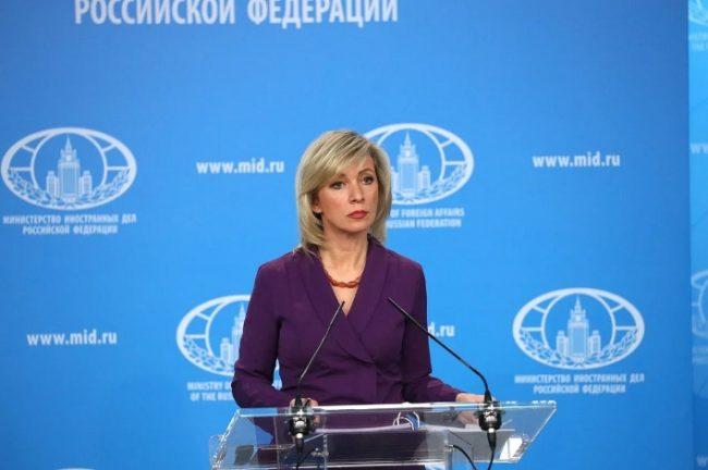 Sacharowa über Sanktionen: Die USA werden bald verlangen, nicht mehr zu atmen
