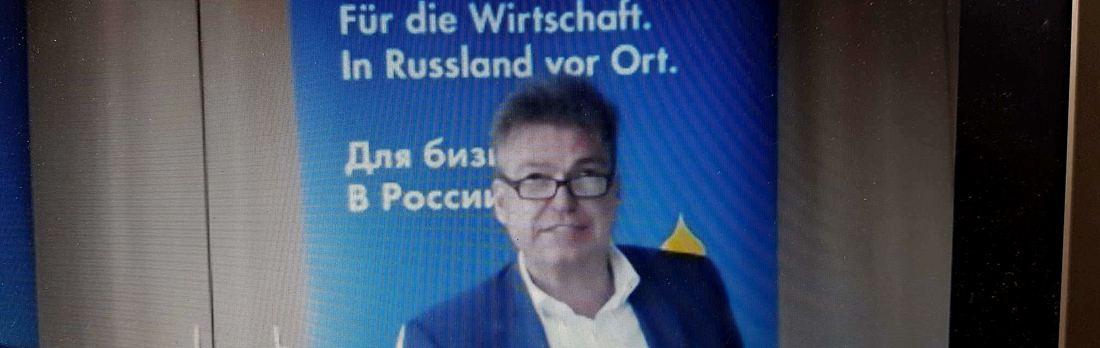 """Pressekonferenz zur Geschäftsklimaumfrage der Deutsch-Russischen Auslandshandelskammer (AHK): """"Der Sonnenschein über unseren Unternehmen"""""""