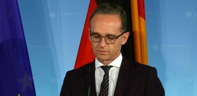 Außenminister Maas anlässlich der US-Sanktionsankündigung