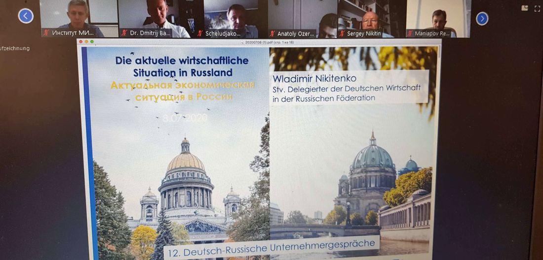 Deutsch-Russische Unternehmergespräche 2020