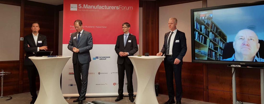 """5.Manufacturers Forum: """"Selbst in schwierigen Zeiten geht es voran"""""""