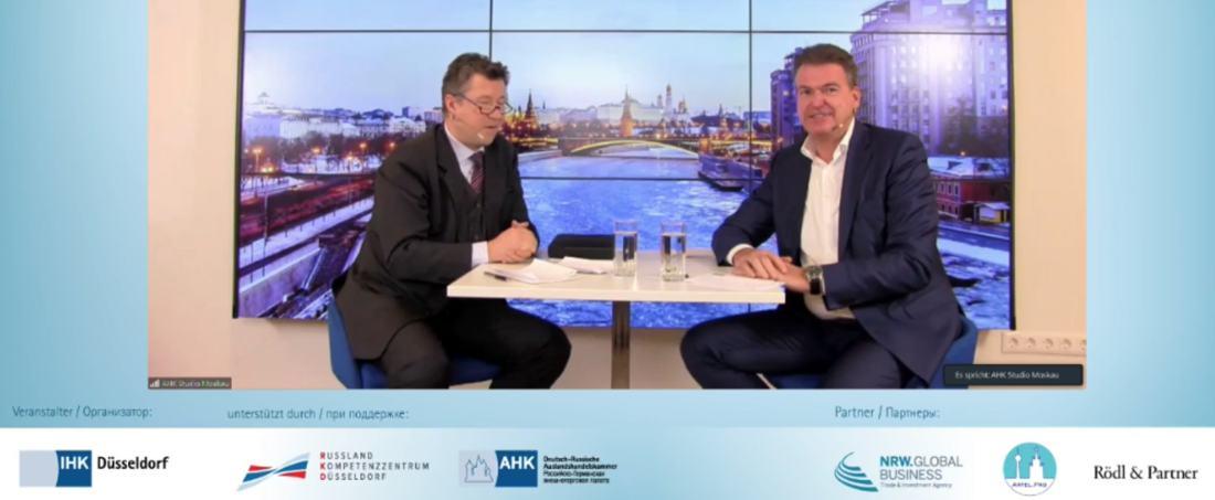 """""""Ungeachtet der schwierigen Rahmenbedingungen großes Interesse am russischen Markt"""" – die jährliche Russland-Wirtschaftskonferenz in Düsseldorf"""